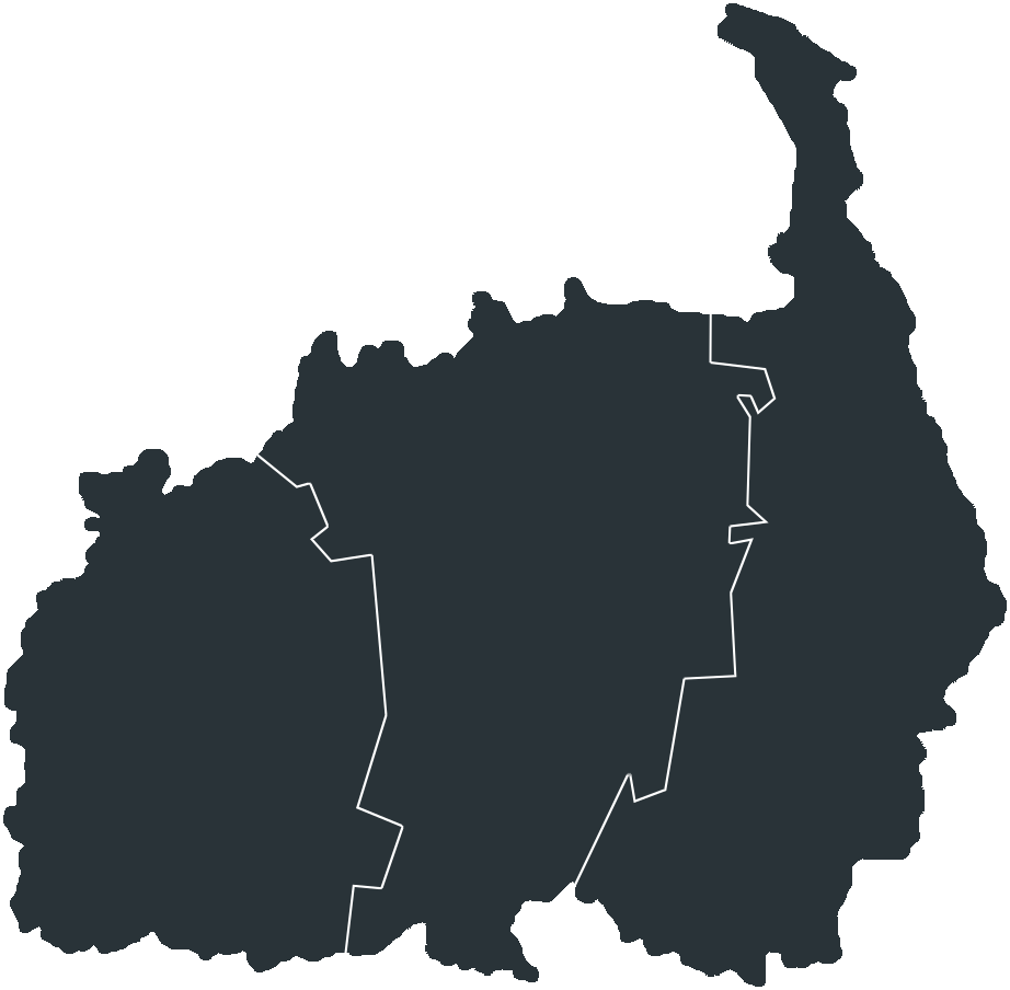 Map of Põlvamaa